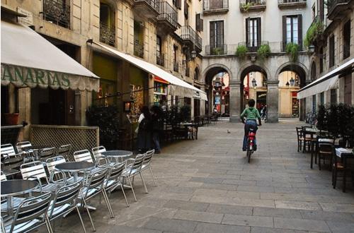 Барселона - велосипедный город