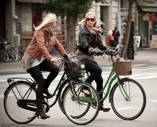 Копенгаген - велосипедный город