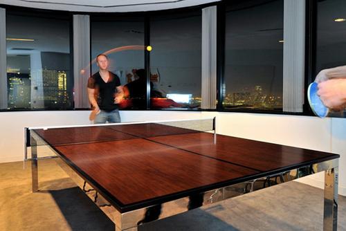 необычные стол для пинг-понга