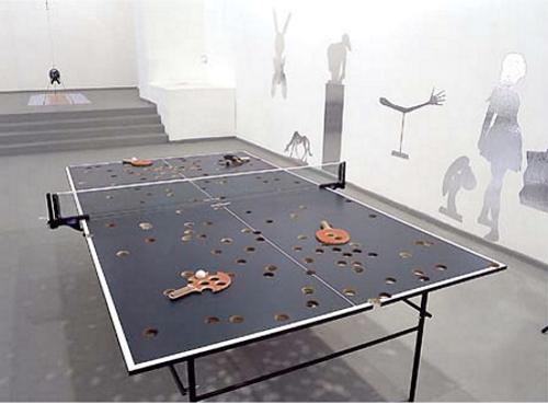 необычный теннисный стол