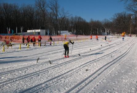 лыжные гонки Темп
